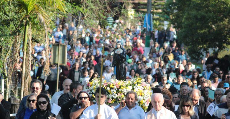 Festa de Santa Paulina promete movimentar o município de Nova Trento - SC 1