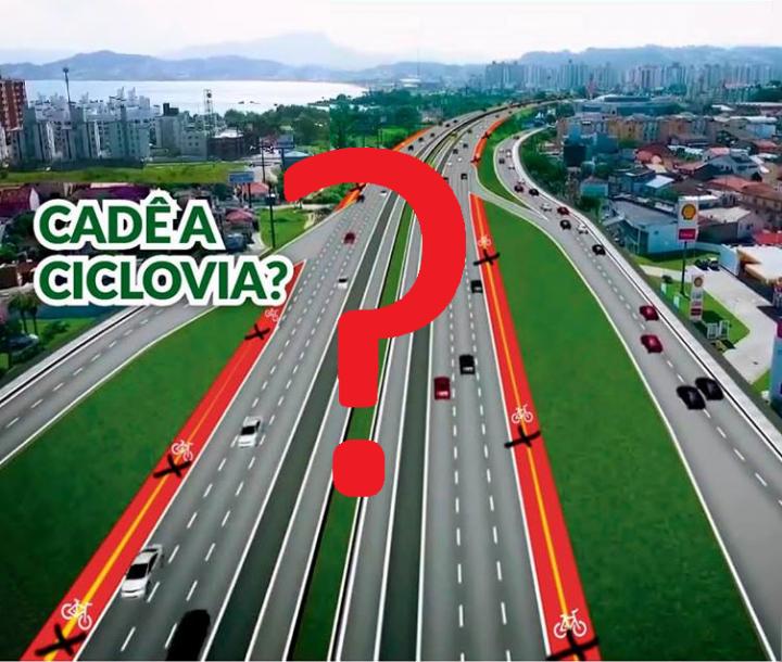 Mobilidade Urbana - 1º Passeio Ciclístico do Poder Judiciário Catarinense