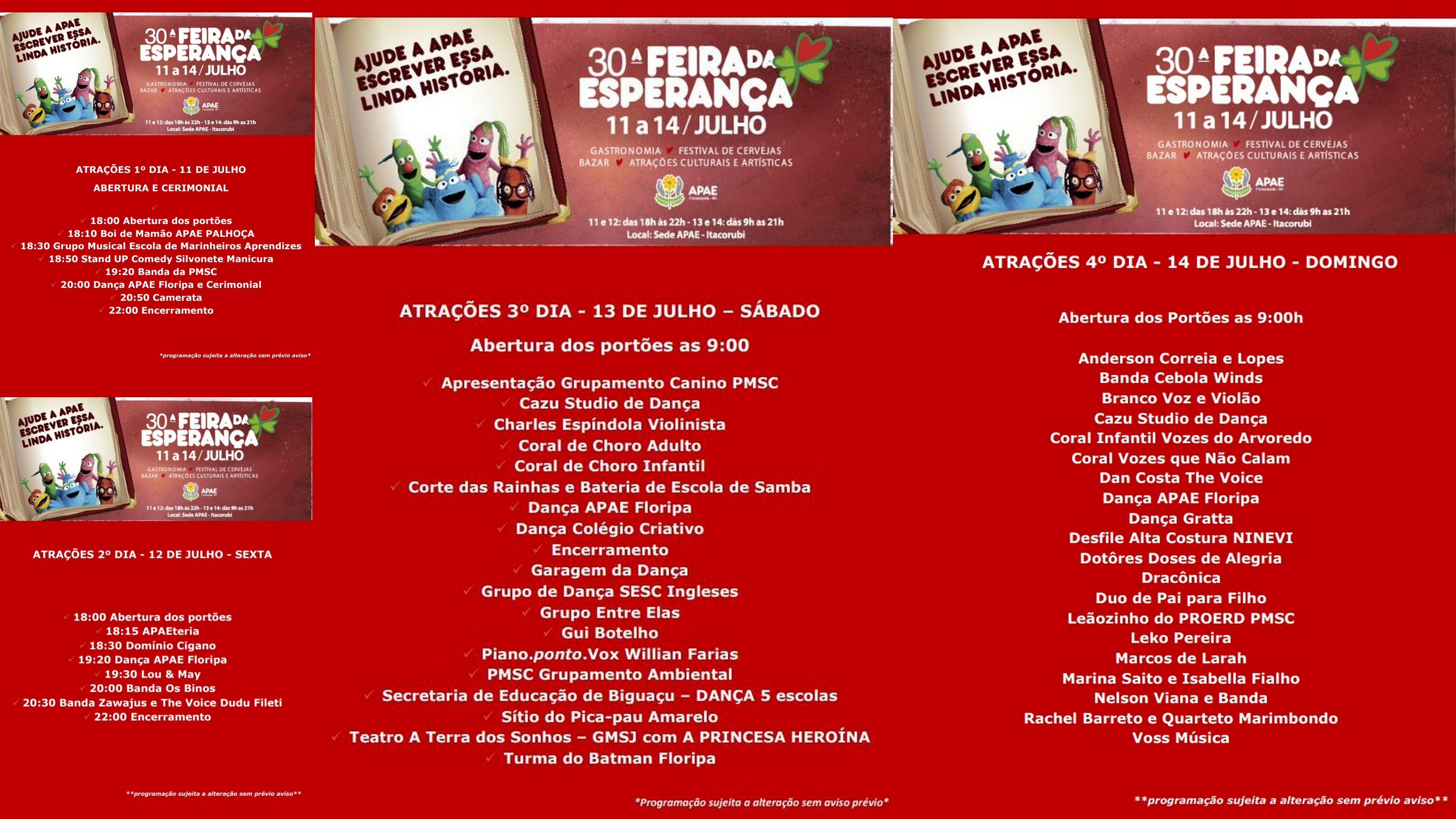 Camerata Florianópolis abre nesta quinta-feira a Feira da Esperança