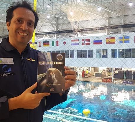 O céu não é o limite - Marcos Palhares - Aventureiro do espaço e desbravador de limites