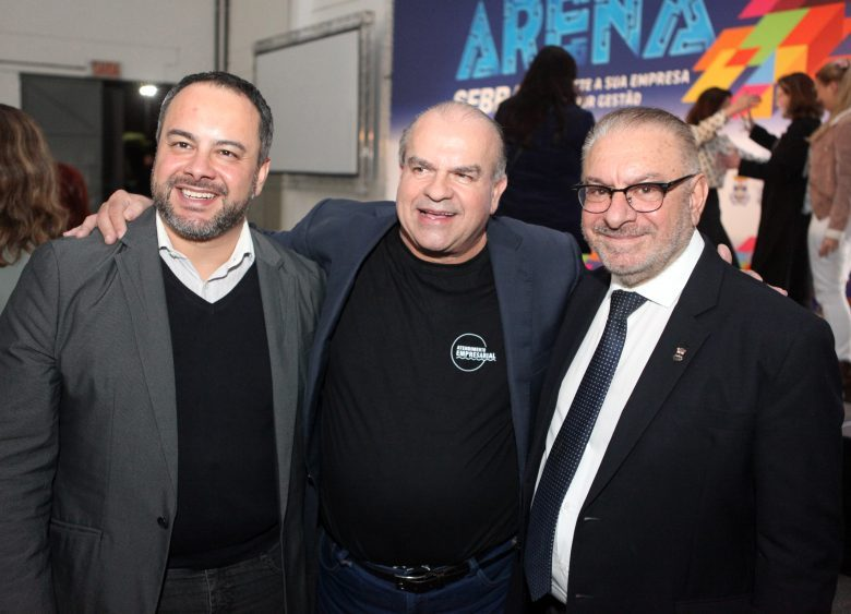 Thiago Morastoni, Sérgio Fernandes Cardoso e Volnei Morastoni