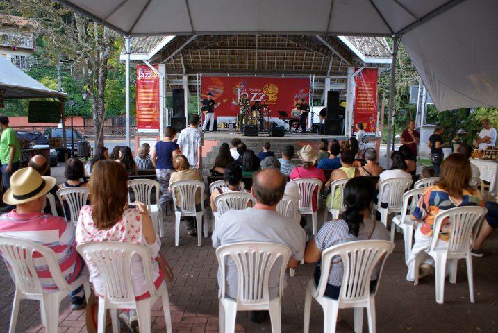 Festival de Jazz vem sendo sucesso de público. Foto Biah Schmidt