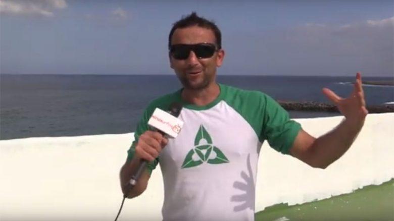 Ben Proffitt apresentador da windsurfingtv - Foto - Windsurfingtv