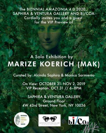 A artista plástica catarinense Marize Koerich