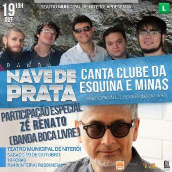Nave De Prata Canta Clube Da Esquina