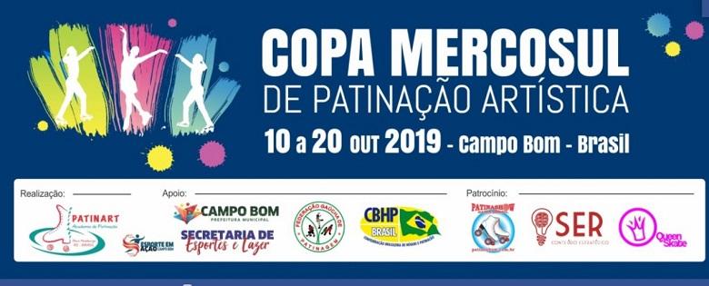 Copa Mercosul De Patinação Artística Inicia Nesta Quinta-Feira Em Campo Bom