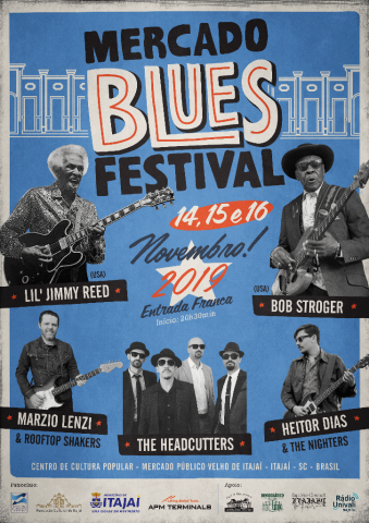 Mercado Blues Festival acontece nesta semana em Itajaí