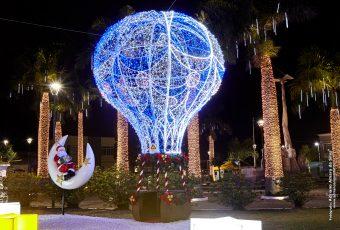 São José recebe iluminação de Natal