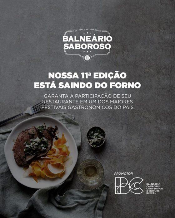 A 11ª edição do Balneário Saboroso já tem data para acontecer
