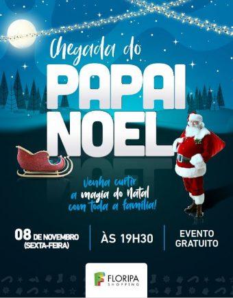 Floripa Shopping apresenta a chegada  do Papai Noel