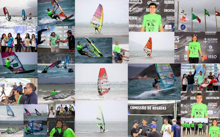 O brasileiro Mateus Isaac e a venezuelana Carenys Salazar conquistaram os títulos do 2019 ISSO IFCA South American Slalom Championship, o maior evento de windsurf das Américas encerrado neste domingo (3) em Palhoça (SC).