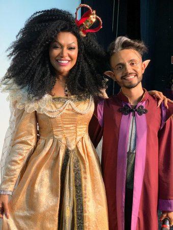 Simone Sampaio e Aritana Maroni