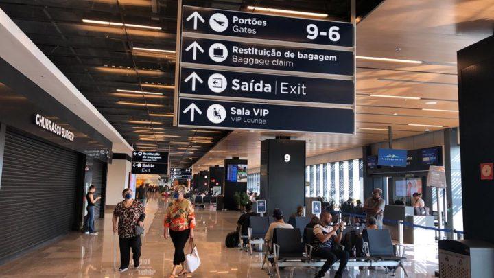 Aeroporto Internacional Hercílio Luz se une aos aeroportos brasileiros